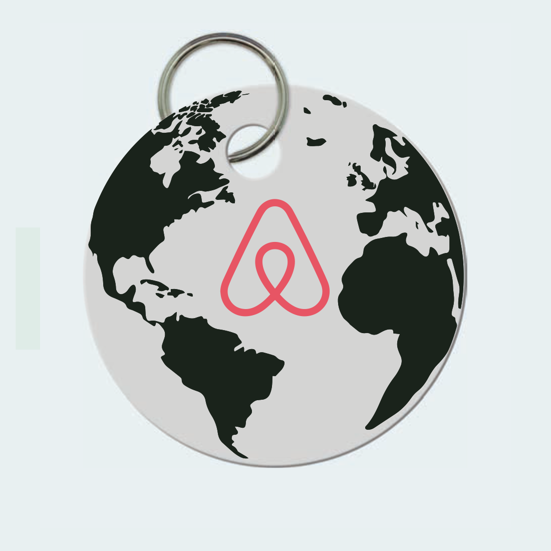 Smart Key Chain (Screen print)