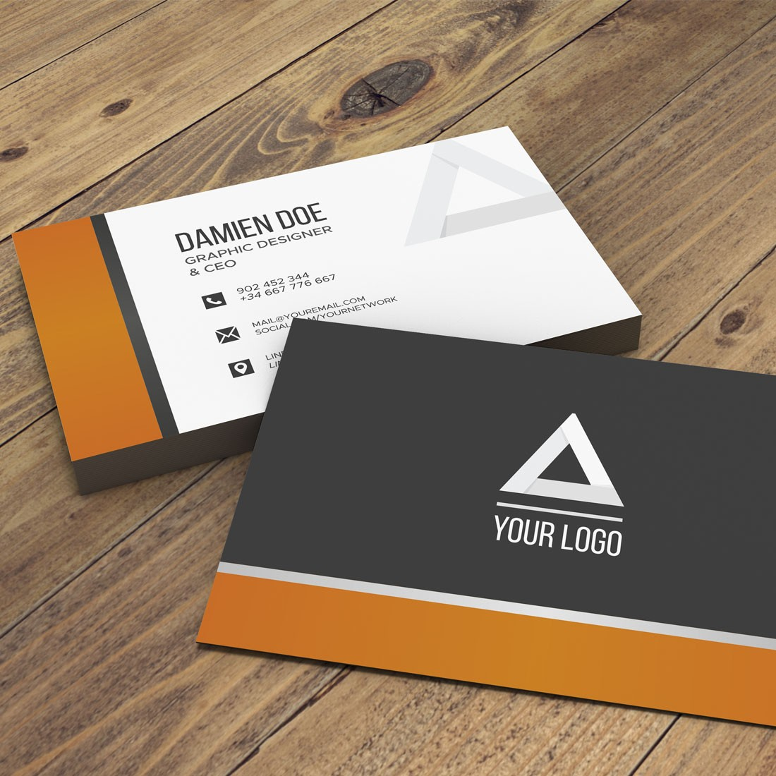 Instant (24 Hours Dispatch) Digital Multi-color Business Cards (4 Color CMYK)