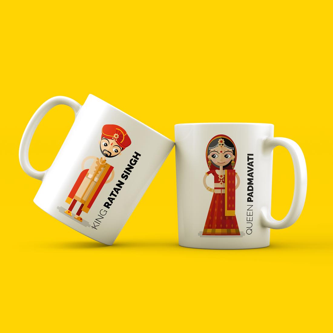 Personalized Printed Ceramic Mugs