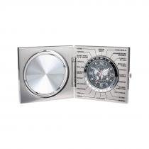 Traveller - metal clock