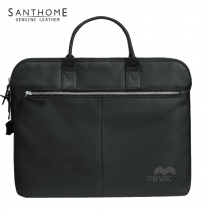 Cremona Leather Office Bag (Screen print)