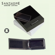 Santhome Leather Mobile Holder (Screen print)