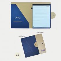 A4 Folder With Bottom Closure (Screen print)