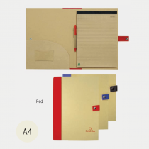 Eco Friendly A4 Folder With Bottom Closure (Screen print)