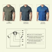 Golf Polo Shirt (Screen print)
