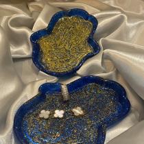 Hamsa jewelry dish