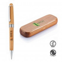 BAMBOO-Personalized Ballpoint Pen in Box