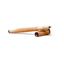 Handcrafted Bamboo Ball point writing pen.