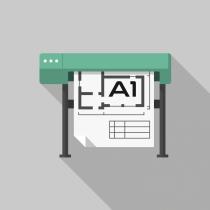 Autocad Construction Drawing Print (CAD Prints) A1 Size