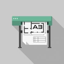 Autocad Construction Drawing Print (CAD Prints) A3 Size