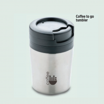 Coffel Double Wall Mug For Coffe Machine (Screen print)