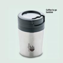 Coffel Double Wall Mug For Coffe Machine (Screen print)