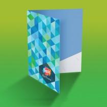 Folder with Pocket (Delivery Dispatch : Digital 2 Days / Offset 4 Days)