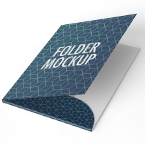 Take or Leave Office Folders 300gsm with Pocket and Lamination Both Sides 4 color CMYK print and Outside only Lamination