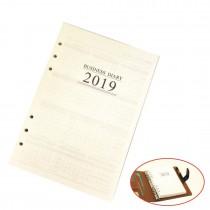 2019 Refill Insert A5 Agenda Organiser Filofax for Diary