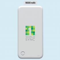 10Power 9000mAh Powerbank with dual USB output (Screen print)