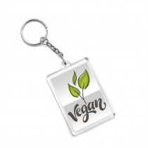 Customized Acrylic Photo Insert Key Chain