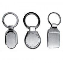 Personalized Keychains with both side plates