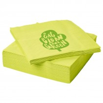 Personalized Paper Napkins / Tissues (1 color print only)