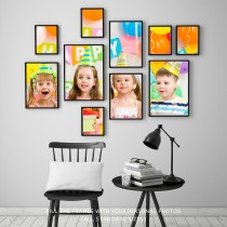 Photo prints on satin photo paper