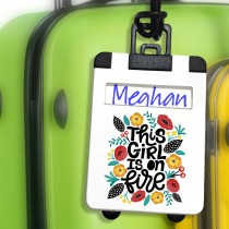 Personalized PVC Luggage Tags