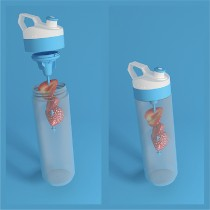 Tacx Fuse Squeezable Personalized Life Style Bottle
