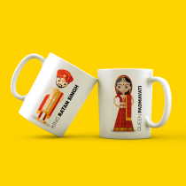 Couple mug (also available in male female style)