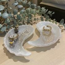 Custom Angel Wings Jewelry Dish