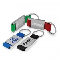 Personalized Metal Keychains w/ Strap