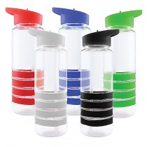 Promotional Sport Water Bottles with straw - 750 mL