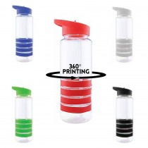 360° Promotional Sport Water Bottles with straw - 750 mL