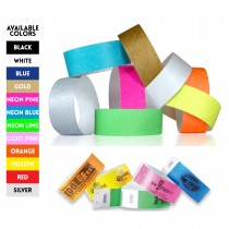Customized Tyvek Wristbands