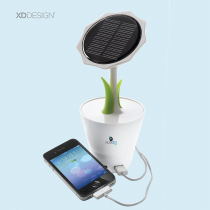 Sunflower Solar Charger (Screen print)