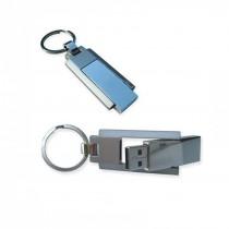 Twister Key Chain Metal USB, upto 32 GB Capacity with Metal Box - Engraving or UV Printing - 2 Sides Branding Optional
