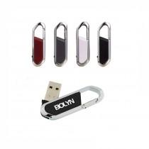 Clip Carbine USB, upto 32 GB with Metal Box - UV Printing - 2 Sides Branding Optional