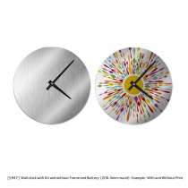 Persoanlized Wall Clocks (Metal - Aluminium) Without Frame
