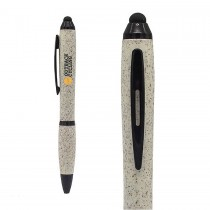 Giftology Wheat Straw Pens with Stylus