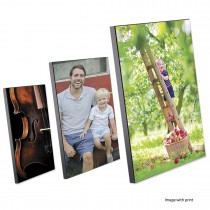 MDF PHOTO PLAQUES / FRAMES With BLACK EDGES [Sublimation]
