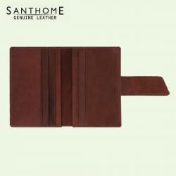 Santhome Uttun Leather Wallet (Screen print)