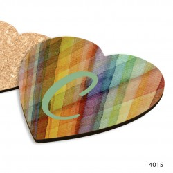 Personalized COASTERS (Various Shape) with Sublimation CMYK Prints