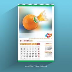 Calendar with Corporate Branding
