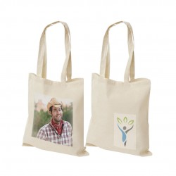 Cotton Bags, Small Quantity, Thermal Rectangular prints, Photo Print, Variable Data and 2 Side printing optional.