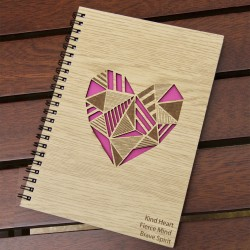 Personalized Wooden Diary