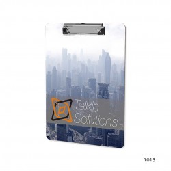 Personalized Flat / Standard Clipboards 4 Color CMYK Sublimation Printing - Clip Boards with Variable Data