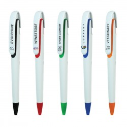 Personalized Plastic Pens - Economical Category [Screen print and UV options]