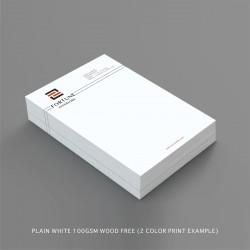 Standard Letterhead Plain 100gsm