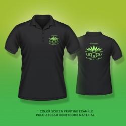 Black color polo tshirt