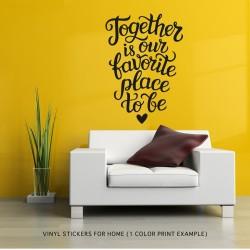 Vinyl Sticker for Home