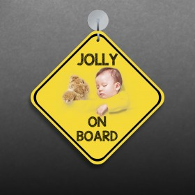 Baby On Board Sign (Car Accessories)