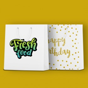 Shopping Bags for parties and exhibitions (Matt Laminated Paper Bags)